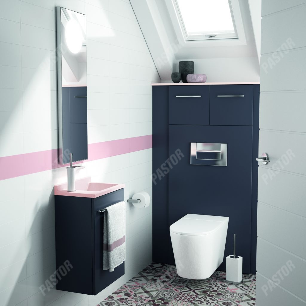 Salle De Bain Et Wc Dans Espace Reduit espace toilettes - pastor